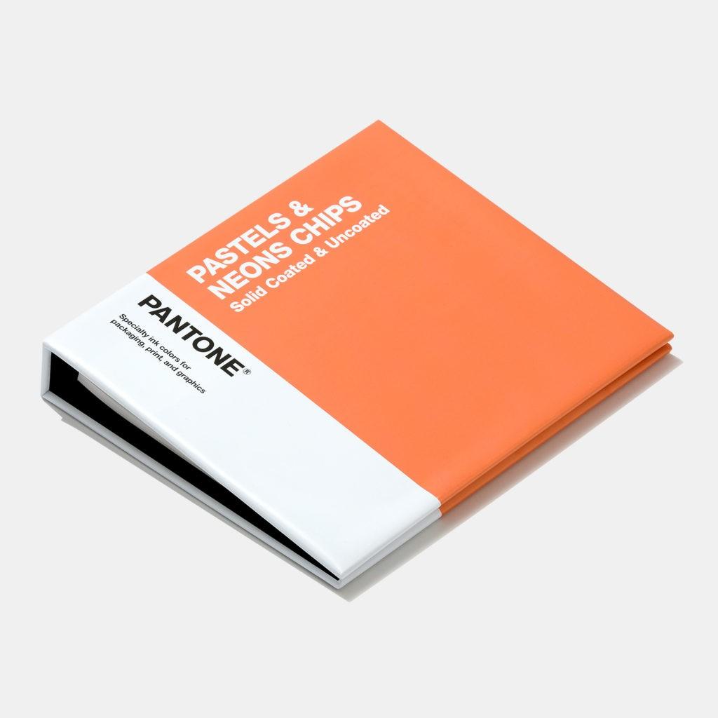 Книга с отрывными образцами Pastels & Neons Chips Coated & Uncoated