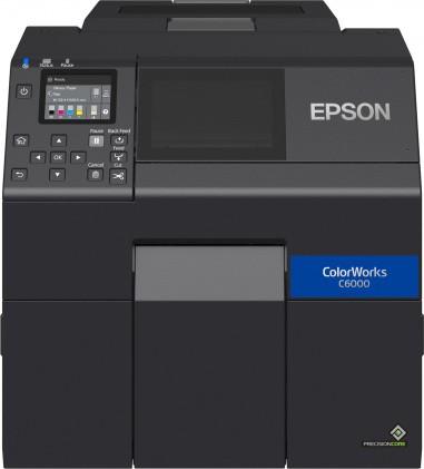 Новая серия Epson ColorWorks CW-C6000/C6500: настольные принтеры для печати этикеток