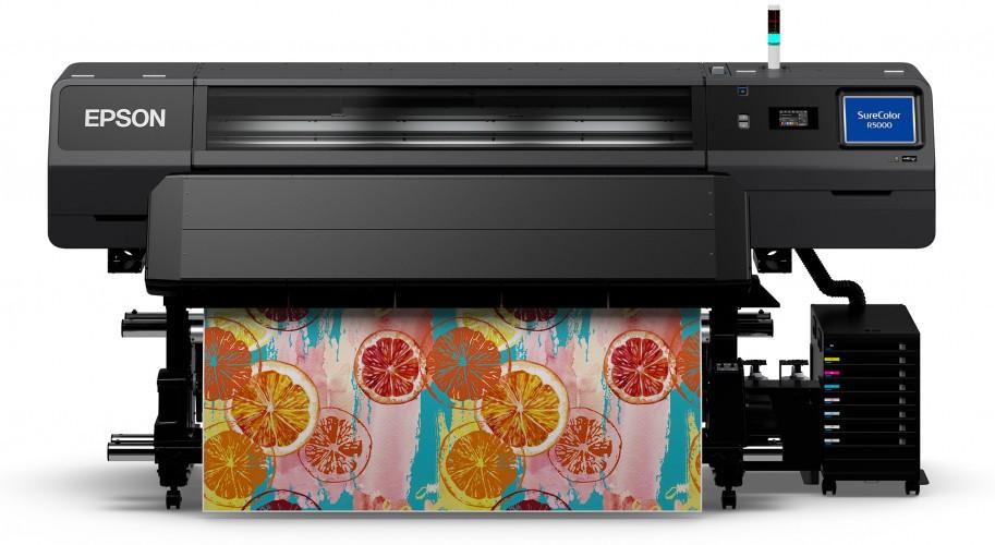 Epson SureColor SC-R5000 - первый широкоформатный принтер Epson для рекламного рынка с чернилами Ultrachrome RS на водной основе