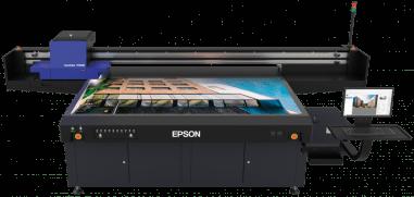 Epson анонсирует первый планшетный УФ-принтер Epson SureColor SC-V7000