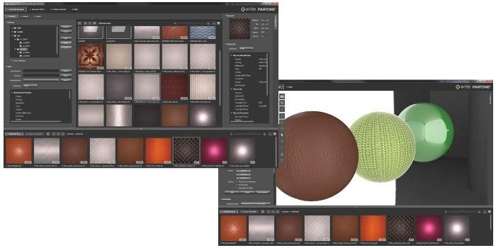 X-Rite PANTORA + X-Rite спектрофотометры: визуальные данные о внешнем виде и цвете