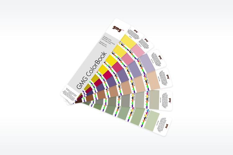 Необычный цветовой справочник: GMG ColorBook